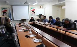 برگزاري جلسه شبنم (شوراي بهداشت نمازگزاران مساجد )