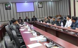 برگزاری کارگروه سلامت و امنیت غذایی شهرستان